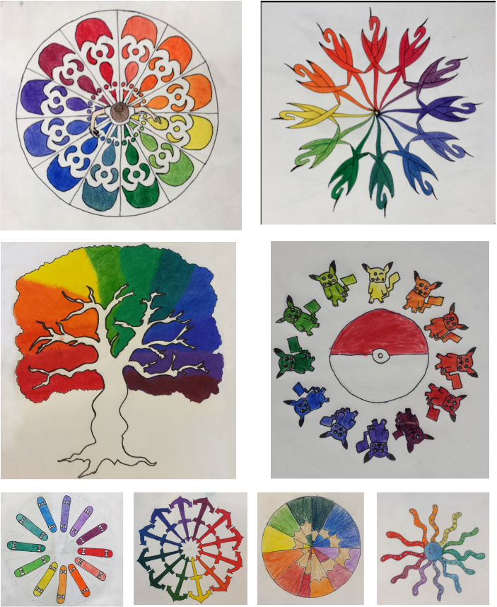 Creative Color Wheel New P Creating Fun Color Wheels  Lessons  Tes Teach Design Inspiration